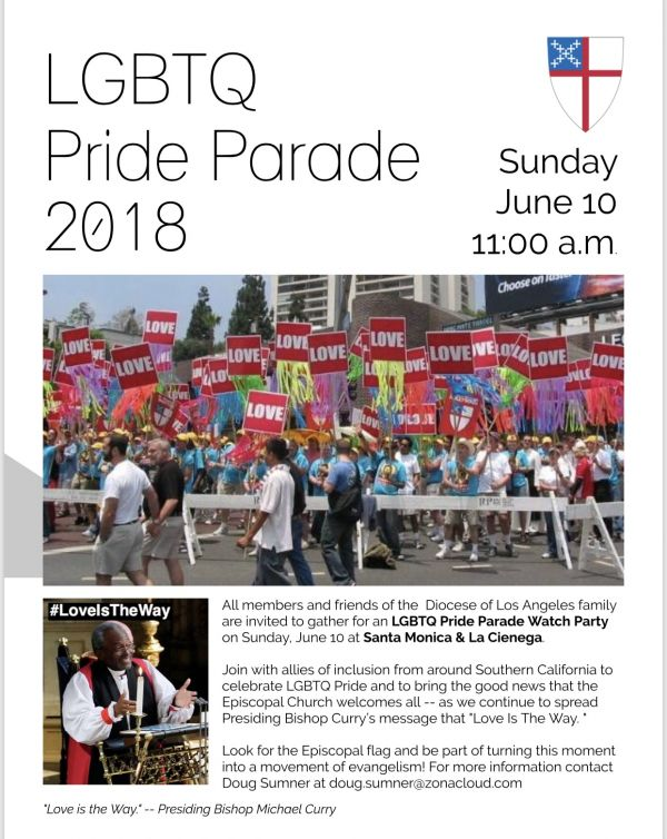 Proclaim God's love at LAPride June 10!