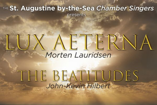 Lux Aeterna Concert, Sunday Mar. 25, 2:30pm